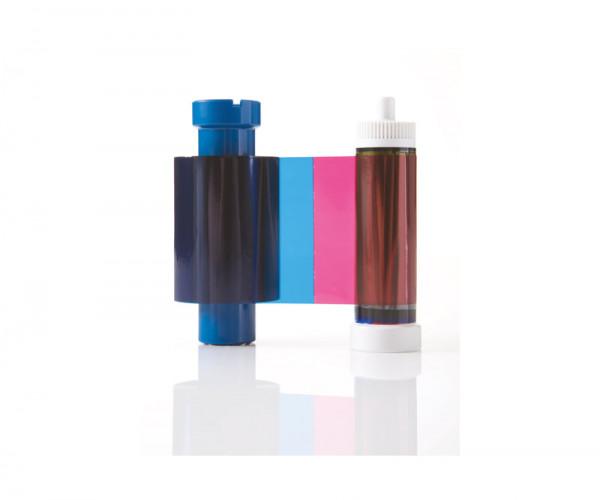 Farbband YMCKO HP für Authentys Plus DUO