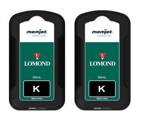 Tintenpatronen schwarz für Lomond Evojet Office - 2er-Set