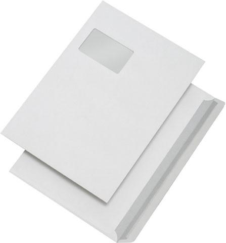 Kuvertierhüllen C4 mit Fenster