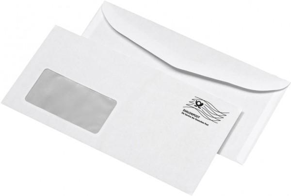 Briefumschläge DIN C6/5 (DIN lang) mit Aufdruck DIALOGPOST