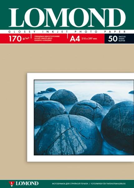 Foto-Inkjetpapier glossy / DIN A4 / 170g